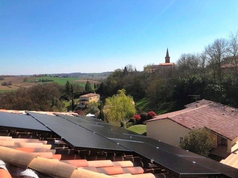 5.5kWc Solarwatt SolarEdge 31280 Mons