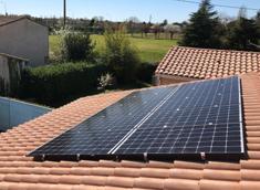 3kWc Photovoltaïque Autoconsommation Vente de Surplus Tournefeuille